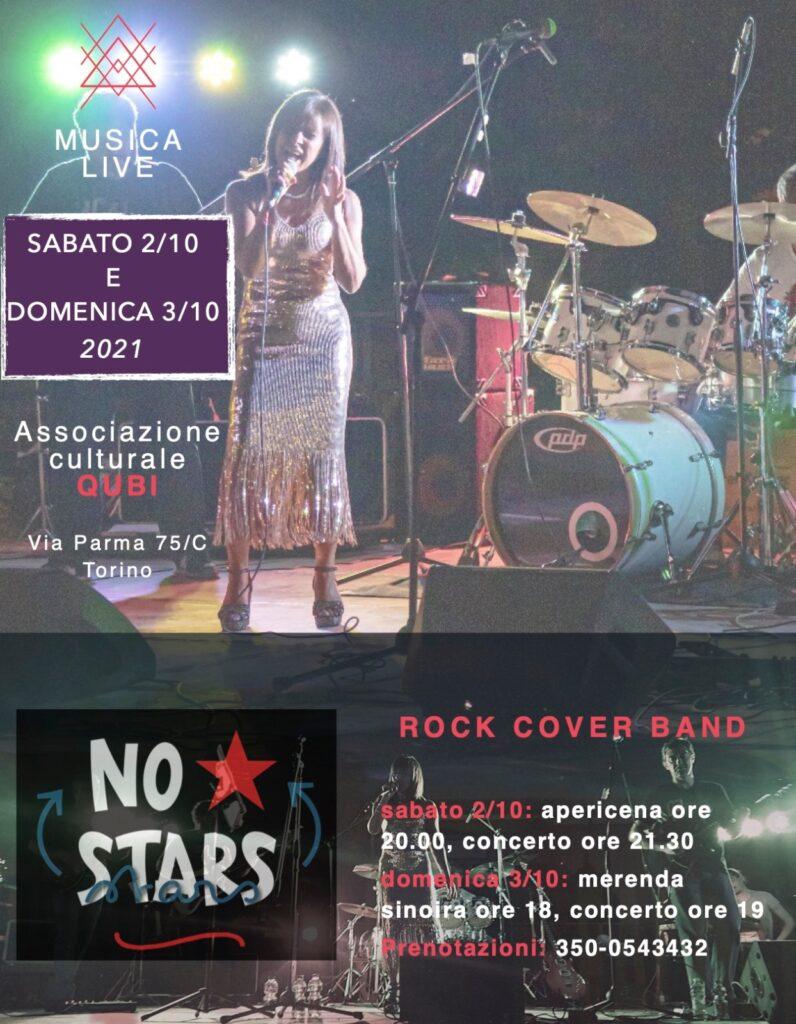 Musica Live al Qubì con i NO STARS